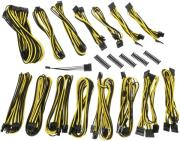 bitfenix alchemy 20 psu cable kit evg series black yellow photo
