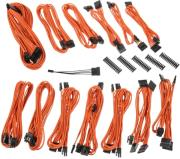 bitfenix alchemy 20 psu cable kit ssc series orange photo