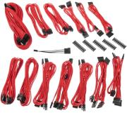 bitfenix alchemy 20 psu cable kit ssc series red photo