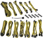 bitfenix alchemy 20 psu cable kit ssc series black yellow photo