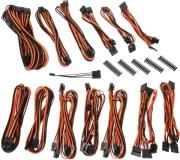 bitfenix alchemy 20 psu cable kit ssc series black orange photo