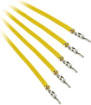 bitfenix alchemy 20 psu cable 5x 20cm yellow photo