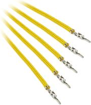 bitfenix alchemy 20 psu cable 5x 40cm yellow photo