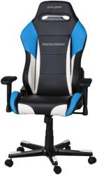 dxracer drifting df61 gaming chair black white blue photo