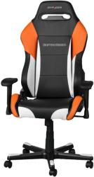 dxracer drifting df61 gaming chair black white orange photo
