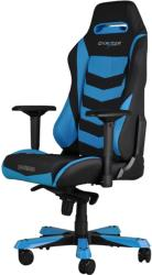 dxracer iron is166 gaming chair black blue photo