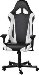 dxracer racing re0 gaming chair black white photo