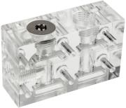 ek water blocks ek fc terminal dual parallel 1 slot plexi photo