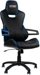 nitro concepts e200 race gaming chair black blue photo