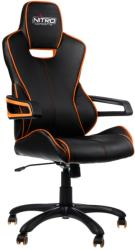 nitro concepts e200 race gaming chair black orange photo