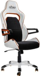 NITRO CONCEPTS E220 EVO GAMING CHAIR WHITEŸ/ORANGE gadgets   παιχνίδια   gaming chairs