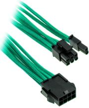 phanteks 6 2 pin pcie extension 50cm sleeved green photo