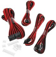 phanteks extension cable set 500mm black red photo