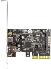 silverstone sst ecu03 2 port usb31 gen2 card pcie photo