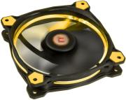 thermaltake riing 12 led fan yellow 120mm photo