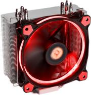 THERMALTAKE RIING SILENT 12 RED CPU COOLER 120MM υπολογιστές   κεντρικοί επεξεργαστές
