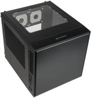 case thermaltake suppressor f1 mini itx chassis black window photo