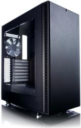 case fractal design define c black window photo