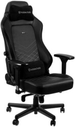 NOBLECHAIRS HERO GAMING CHAIR BLACK/PLATINUM WHITE gadgets   παιχνίδια   gaming chairs