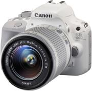 canon eos 100d kit ef s 18 55mm is stm white photo