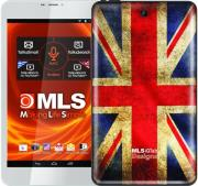 tablet mls iqtab designs 8 d08 8 quad core 8gb wifi bt android 44 kk vintage british flag white photo