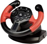 gembird str uv 01 vibrating racing wheel pc ps3 photo