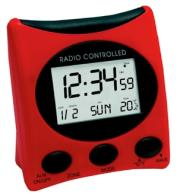 technoline wt 221 radio controlled clock red photo