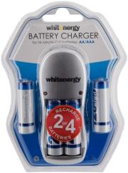 whitenergy 08353 battery charger 4xaa aaa 4xaa r6 2800mah photo