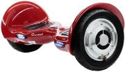 skymaster smart balance board 2wheels 10 with bluetooth speaker red photo