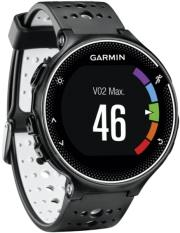 garmin forerunner 230 black white photo