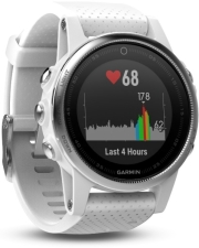 SPORTWATCH GARMIN FENIX 5S WHITE 42MM WITH CARRARA WHITE BAND gadgets   παιχνίδια   sportwatches