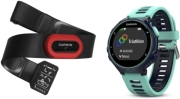 SPORTWATCH GARMIN FORERUNNER 735XT MIDNIGHT BLUE/FROST BLUE RUN BUNDLE gadgets   παιχνίδια   sportwatches