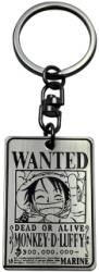 one piece keychain wanted luffy photo