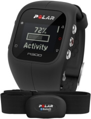 polar a300 black hrm photo