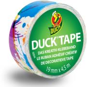 duck tape ducklings mini rolls paint splatter photo