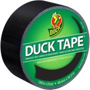 duck tape big rolls black night photo