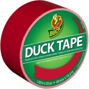 duck tape big rolls cherry red photo