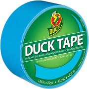 duck tape big rolls electric blue photo