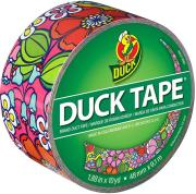 duck tape big rolls flower power photo