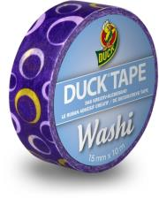 duck tape washi purple circle photo