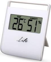 LIFE WES-102 DIGITAL INDOOR THERMOMETER WITH HYGROMETER gadgets   παιχνίδια   μετεωρολογικοί σταθμοί