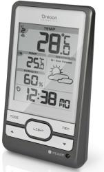oregon scientific bar206 wireless weather station warm grey photo