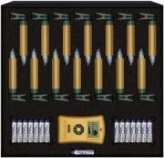 krinner lumix deluxe mini starter set 14pcs gold 75343 photo
