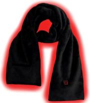 sunen glovii ga1b heated scarf size uni black photo