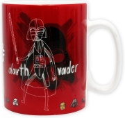 STAR WARS - MUG 460ML - SKETCHBOOK WITH BOX gadgets   παιχνίδια   κουζίνα