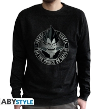 DRAGON BALL - SWEAT VINTAGE VEGETA MEN BLACK L gadgets   παιχνίδια   t shirts