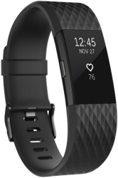 FITBIT CHARGE 2 LARGE BLACK/GUNMETAL gadgets   παιχνίδια   sportwatches