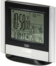 TREVI ME3120 RC CLOCK WITH WEATHER STATION AND OUTDOOR SENSOR SILVER gadgets   παιχνίδια   μετεωρολογικοί σταθμοί