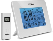 GREENBLUE GB146W WEATHER STATION DCF IN/OUT MOON PHASE WHITE gadgets   παιχνίδια   μετεωρολογικοί σταθμοί