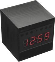 CLOCK SPY CAMERA WITH NIGHT VISION HD SC466 gadgets   παιχνίδια   spy